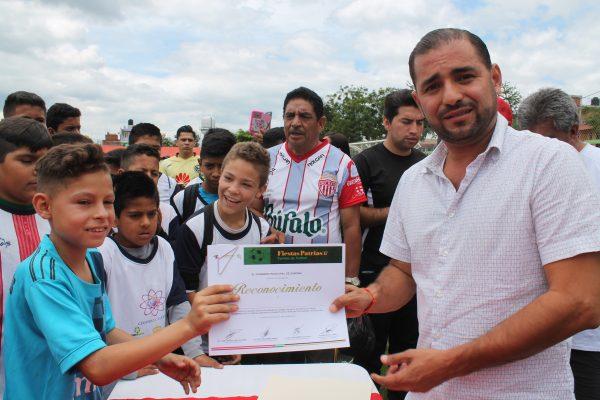 Exitoso Cuadrangular de Futbol Infantil
