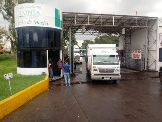 Liconsa ha entregado 12 toneladas de víveres