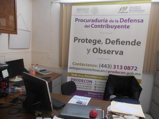 Zamora cuenta con módulo de Prodecon