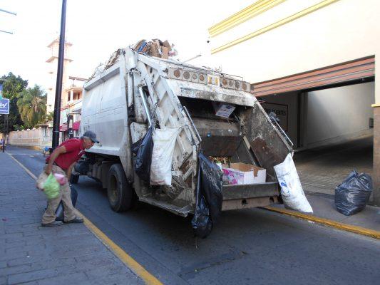 Sí habrá recolección de basura
