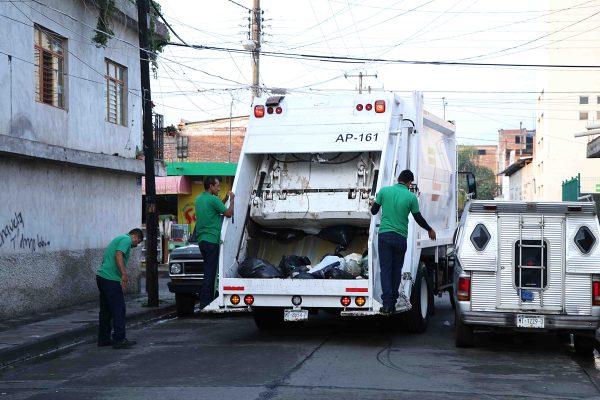 El domingo habrá recolección de basura