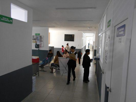 Centro de Salud, espacio digno