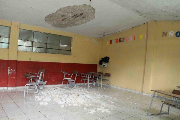 Repararán escuelas dañadas