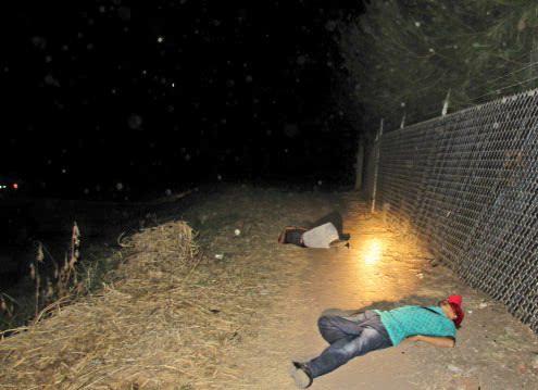 Ultimados a balazos en la colonia Salinas de Gortari