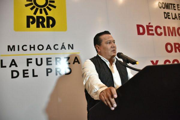 García Avilés, nuevo dirigente estatal del PRD