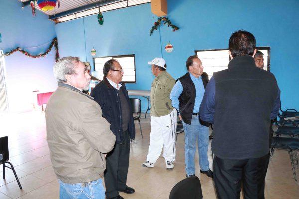 Edil visita Casa Club de Jubilados y Pensionados