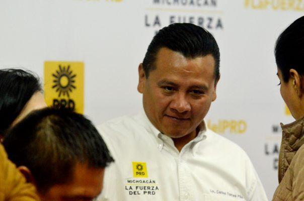 """""""Los michoacanos necesitamos un gobernador de tiempo completo"""": AHI"""