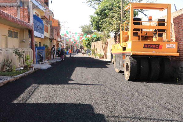 Mejoran calle Circunvalación