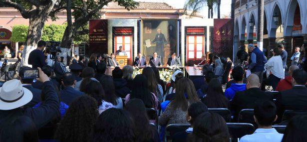 Celebran fundación de Zamora