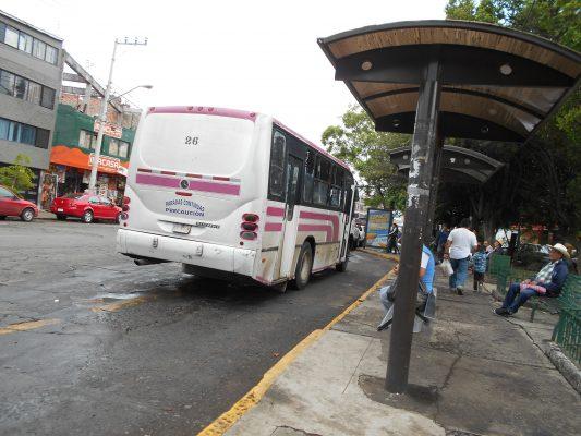 Se normaliza servicio de transporte público