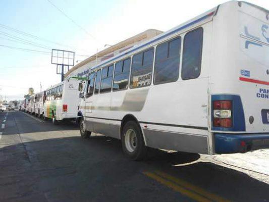 Mantendrán tarifa del transporte público