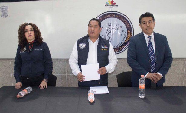 Presenta PGJE a nuevo fiscal regional de La Piedad