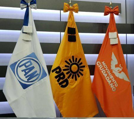 Se cae coalición PRD, PAN, MC en 15 municipios