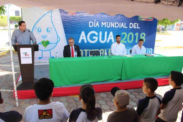 Celebra SAPAZ el Día Mundial del Agua