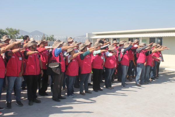 Inician actividades supervisores del INE