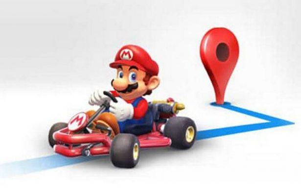 Ahora Mario Bros será tu copiloto pues te guiará en Google Maps
