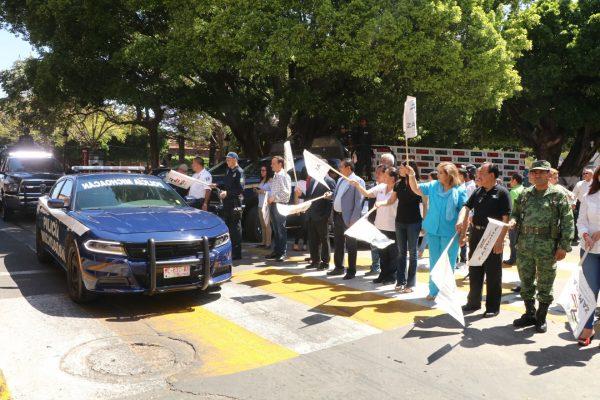 Dan banderazo deinicioal operativo Semana Santa 2018