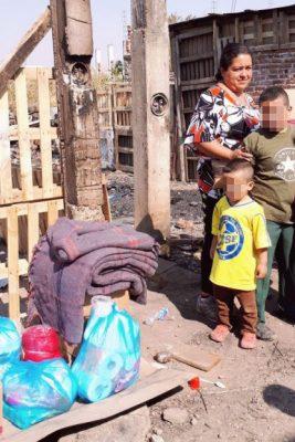 960b22831 Solidaridad con familias afectadas por incendio en la colonia Revolución