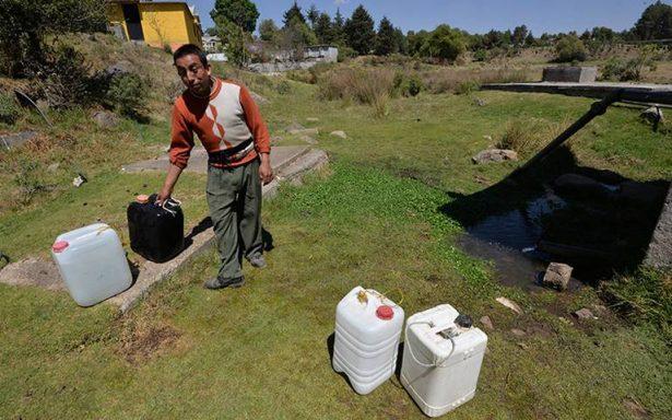INEGI asegura que 44 millones de mexicanos se encuentran sin agua en sus hogares