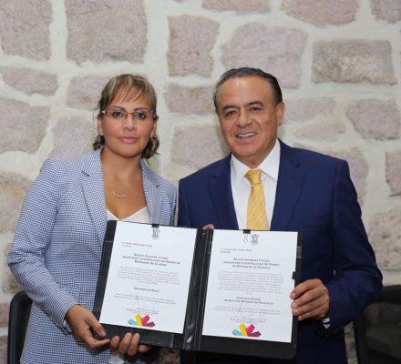 Asume Diana Carpio puesto como secretaria de Salud en Michoacán