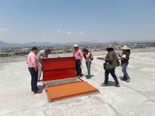 Alumnos de la UNAM colaboran con Sapaz