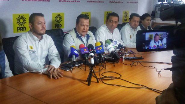 """""""No es expulsión"""", se valorará posible sanción al gobernador: PRD"""