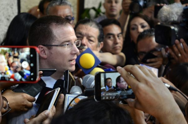 Necesario, cambiar estrategia de seguridad: Ricardo Anaya Cortés