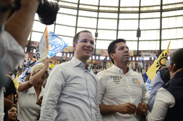 Apoyo con todo a Toño García y él tiene mi respaldo, destaca Ricardo Anaya