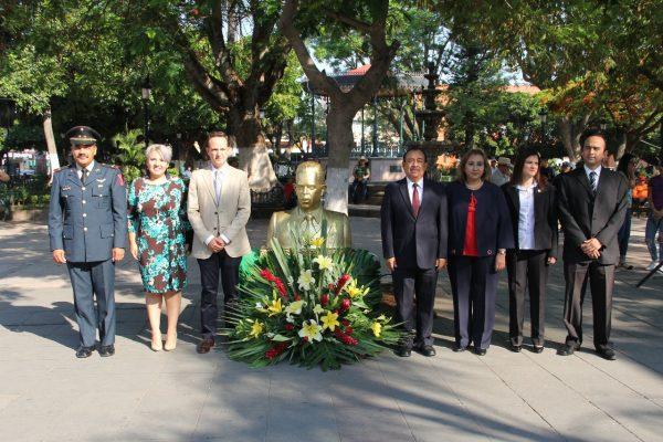 Conmemoran CXXIII Aniversario del Natalicio de Lázaro Cárdenas del Río