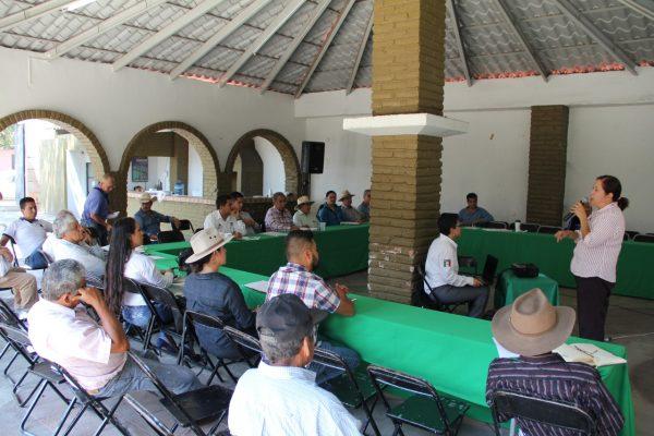 Realizan segunda reunión del Consejo Distrital para el Desarrollo Rural Sustentable