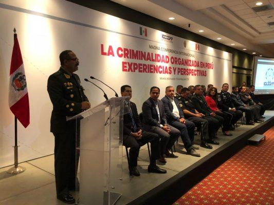 IEESSPP y Policía Nacional del Perú, imparten magna conferencia nacional