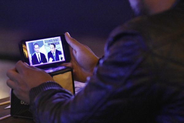 Morelianos presenciaron el debate en un bar de la ciudad