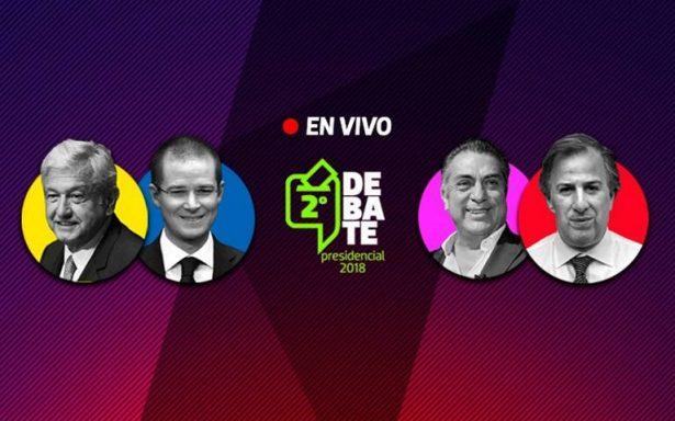 En vivo segundo debate presidencial desde Tijuana