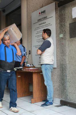 Comienza INE distribución del listado nominal de electores en Michoacán