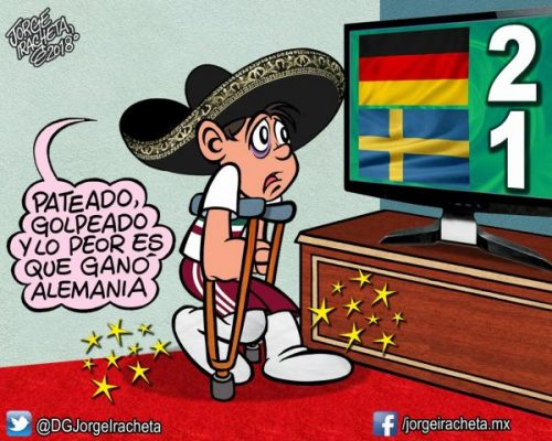 "Alemania ""amarga"" el triunfo de México sobre Corea"