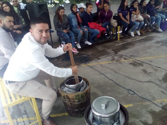 Nieve de garrafa en Zamora, la novedad