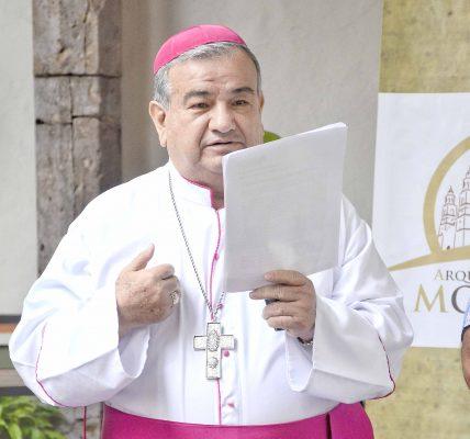 Seguridad, el desafío, asegura el arzobispo