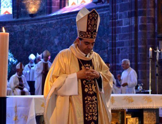 Prepara actividades como obispo de Chiapas
