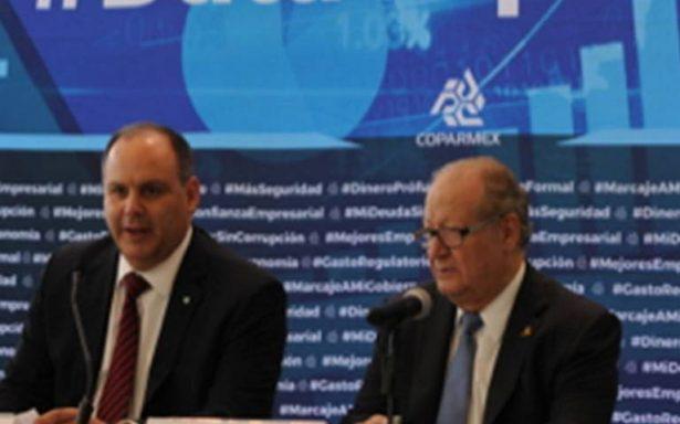 Seguridad y corrupción, temas prioritarios para Coparmex