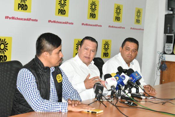 Va PRD en Michoacán contra propuesta de AMLO