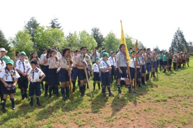 Realizan Campamento Nacional de Boy Scouts