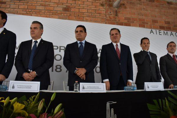 Solicita gobernador que Michoacán sea sede del encuentro de industriales de la República