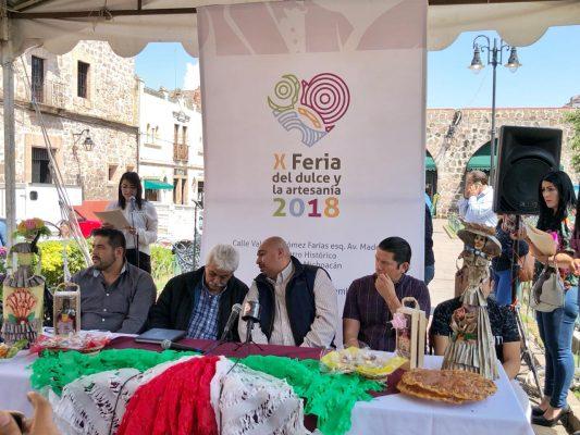 Mercado de Dulces y Artesanías invita a su décima feria