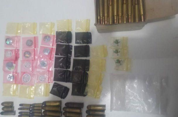 Detienen en Zamora a tres con armas y drogas