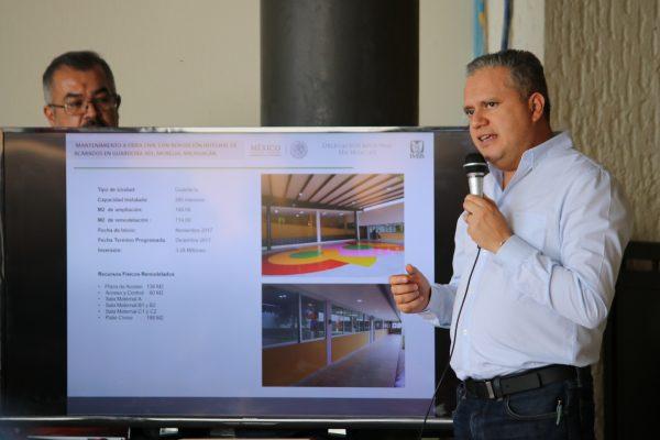 Amplían guardería número 1 del IMSS en Morelia