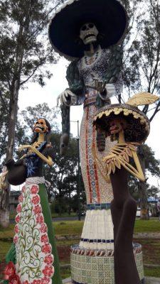Las artesanías y sabores tradicionales de la tenencia forman parte de la Feria de la Catrina 2018