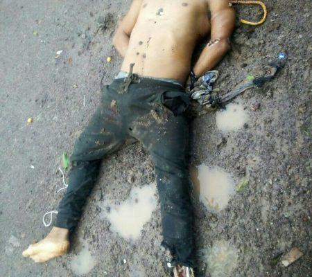 Encuentran a un hombre ejecutado en la carretera Tacámbaro-Tecario