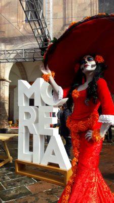 """Desfile de Catrinas e iluminación especial de Catedral con """"La Llorona"""""""