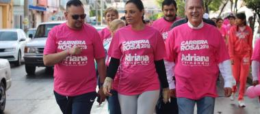 Más de 2 mil personas se sumaron a la lucha contra el cáncer de mama