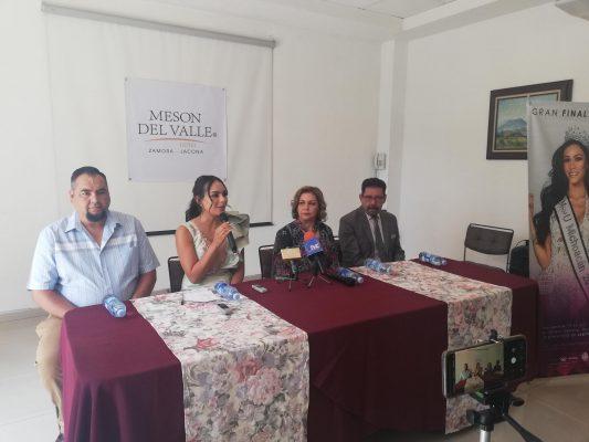 Zamora será sede estatal de Mexicana Universal